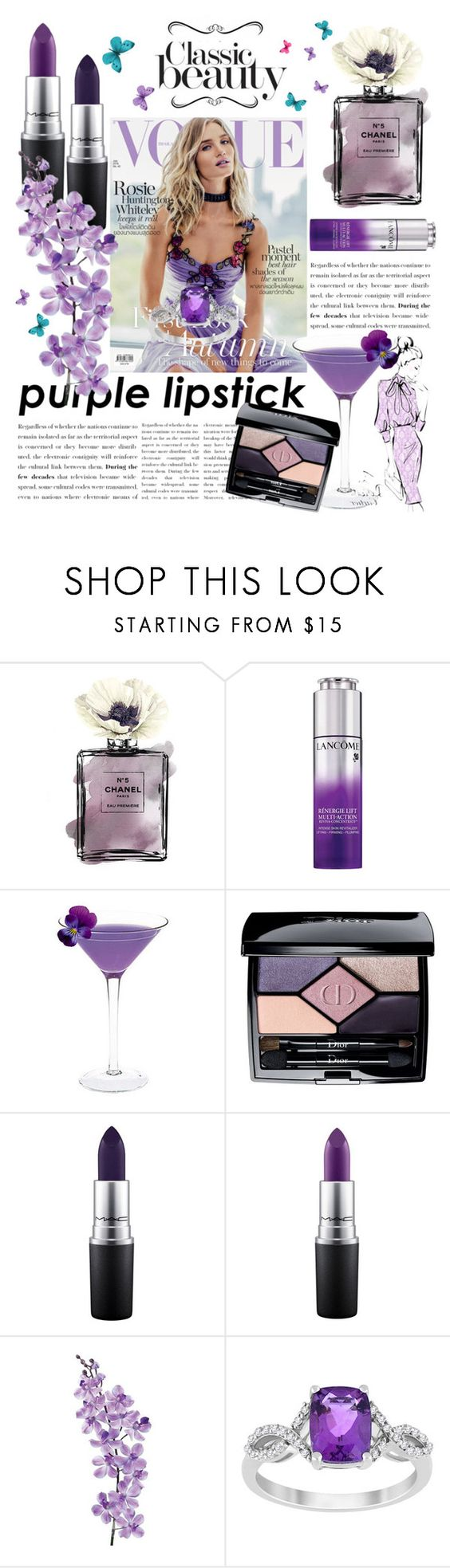 """""""ThisSeason Beauty Trend"""" by tenindvr ❤ liked on Polyvore featuring beauty, Whiteley, Christian Dior, MAC Cosmetics and Laura Cole"""