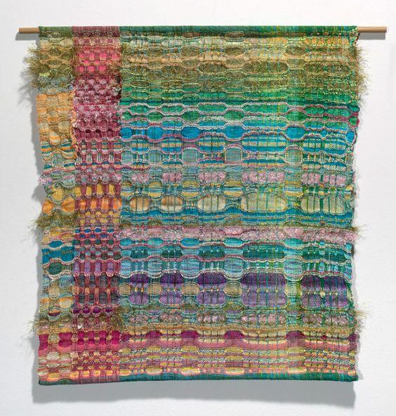 handwoven honeycomb (Dorte Weber)