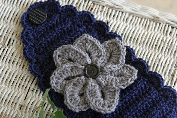 Oh my i need thus in black and gold and one in blye and white!  https://www.etsy.com/listing/206187317/crochet-earwarmer-headband-womens-winter