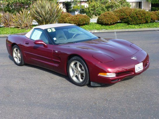 Convertible 2003 Chevrolet Corvette 50th Anniversary Edition With 2 Door In Redwood City Ca 94063