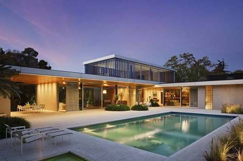 Modern LShaped House Plan in Mexico K I N G Examples