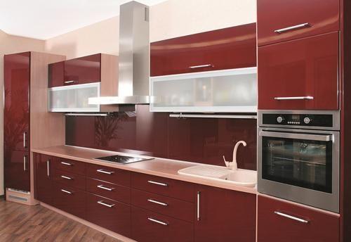 بفضل التصاميم الحديثة لديكور المطابخ يمكنك عمل مطابخ المنيوم اقتصادية وجميلة الشكل وخاص Modern Kitchen Design Beautiful Kitchen Cabinets Kitchen Cabinet Design