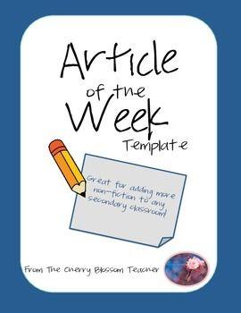 article of the week Sample article of the week area vregional superintendents of  schools robert daiber ○ keri garrett ○ marchelle kassebaum  .