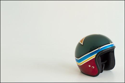 customized helmet by Felix 'The Cat'
