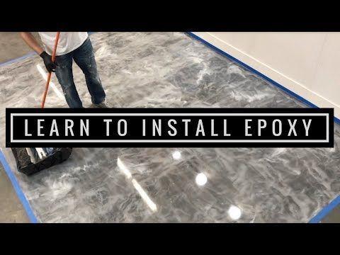 Learn To Install Metallic Epoxy Floors Like The Pros Start To Finish Youtube Basementfinishing In 2020 Metallic Epoxy Floor Epoxy Floor Epoxy Floor Basement