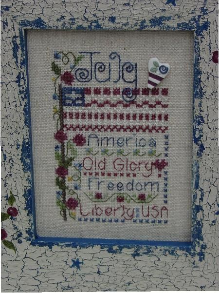 July | Save on Cross Stitch at SNF
