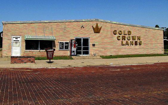Gold Crown Lanes -     Stafford, Kansas