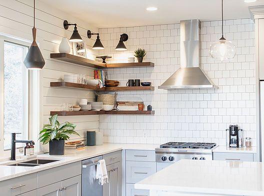 Kitchen Remodel Kitchen Remodel Diy Kitchen Remodel Floating Shelves Kitchen