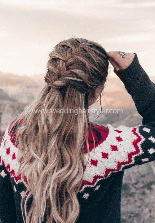 54 Schnelle Und Einfache Frisuren Fur Frauen 2018 2019 Frisuren Einfach Einfach Einfache Frauen Frisuren Sc Frisuren Frisuren Einfach Frisuren Langhaar