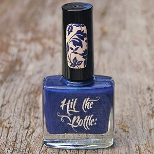 "Hit the Bottle ""Navy Jones's Locker"" Stamping Polish"