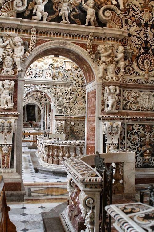 "Architecture on Twitter: ""Church of the Gesu Ambulatory, Palermo, Italy… """