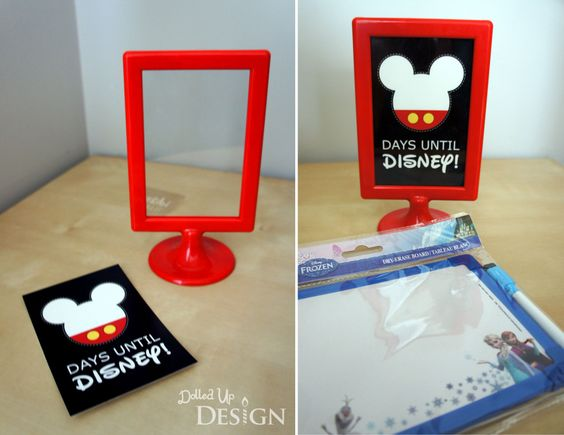 DIY Printable Disney Countdown