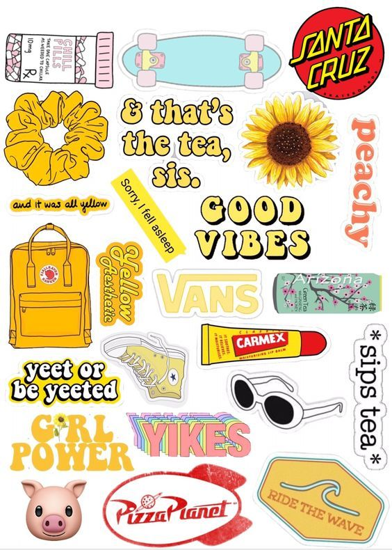 Summer Time Vibes With Images Homemade Stickers Wallpaper