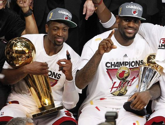 The Miami Heat have become LeBron James' team. Description from blog.chron.com. I searched for this on bing.com/images
