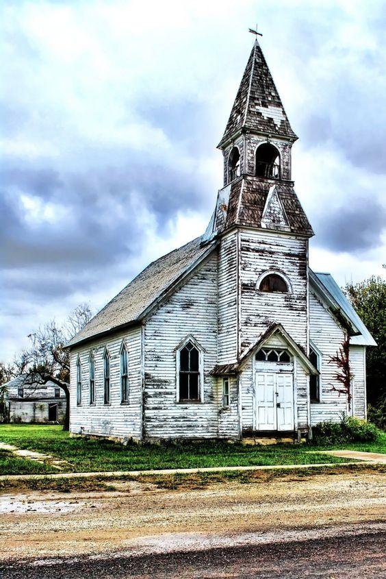 Kansas, United States   The 28 Most Beautiful Abandoned Churches Around The World