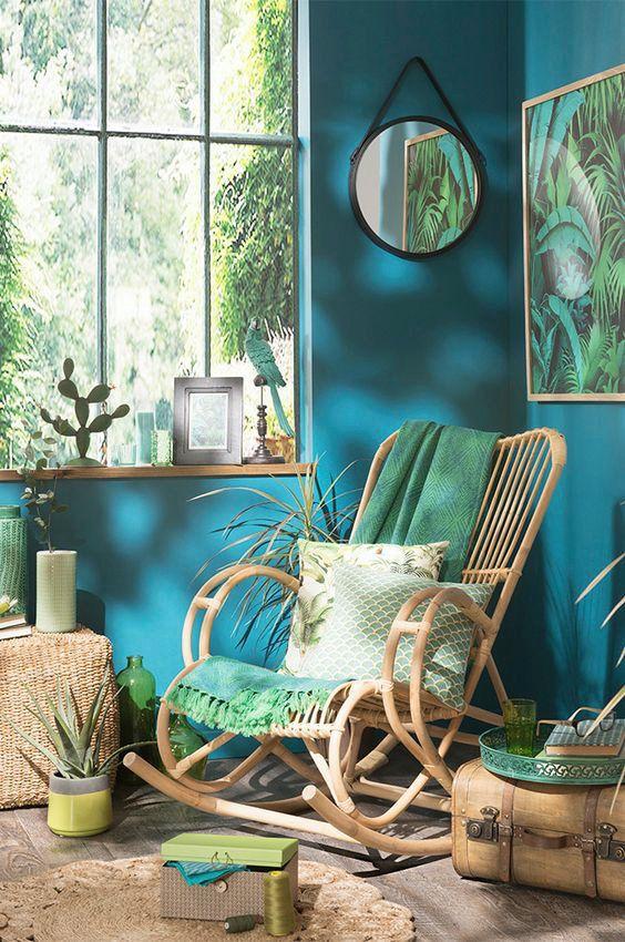 Envie d 39 une d co tropicale decotrends tendance for Decoration maison tropicale