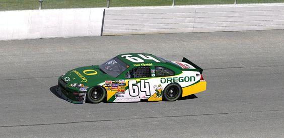Pro Car Racing Oregon Duck Style! #nationalbrand