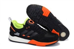 Discount store online Adidas Originals Tech Super Lovers Chaussures Anthracite/D'orange Agrumes/Vert Fluo