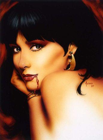 vampirella-1997-harris-bloodlust-joe-jusko-portrait