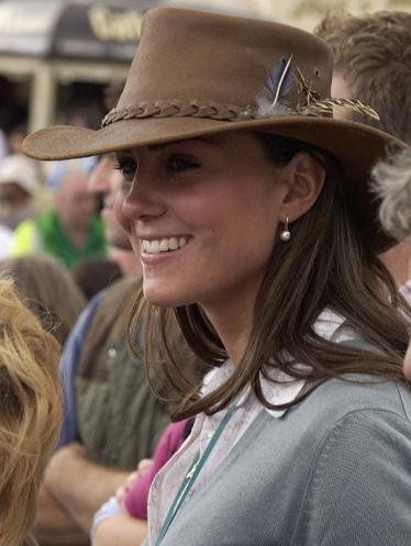 Kate Middleton and Foldaway Full-grain Broncho Hat by Barmah