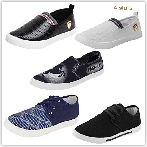 Earton Combo Casual Loafers Sneakers