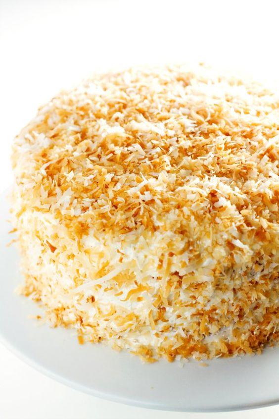 Coconut cream cakes, Coconut cream and Cream cake on Pinterest