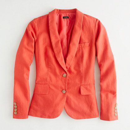 a bright blazer