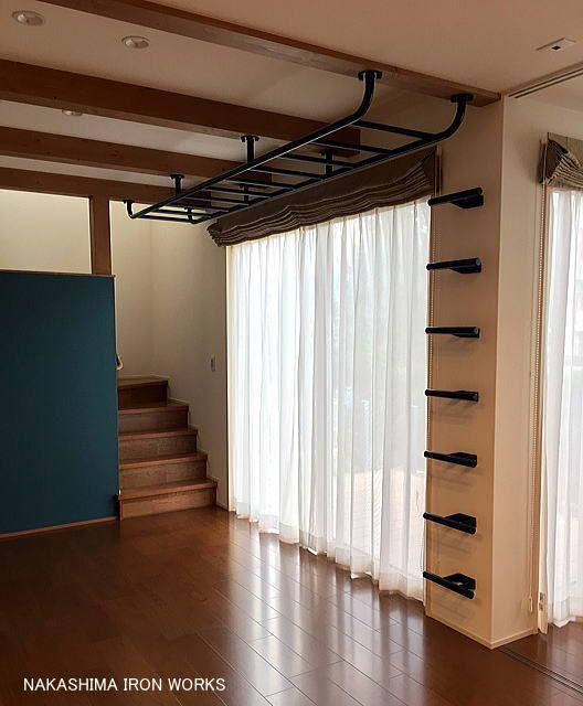 住宅 雲梯 屋内 うんてい ウンテイ 家庭用 室内 水泳 トレーニング