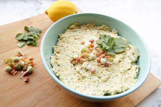 Koriander Hummus
