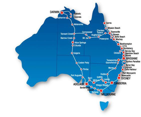East Coast Map Of Australia.Map Of East Coast Australia Afp Cv
