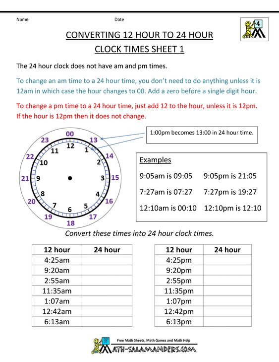 24-hour-clock-conversion-12-to-24-hour-clock-1.gif 1,000×1,294 ...