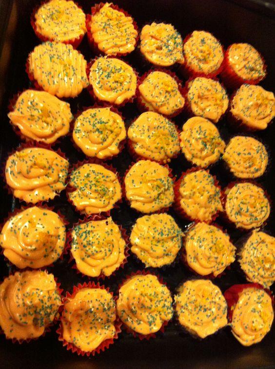 Blue Moon Beer Mini Cupcakes ⛅☀