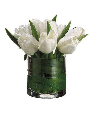 29.- Centros de Mesa con Tulipanes