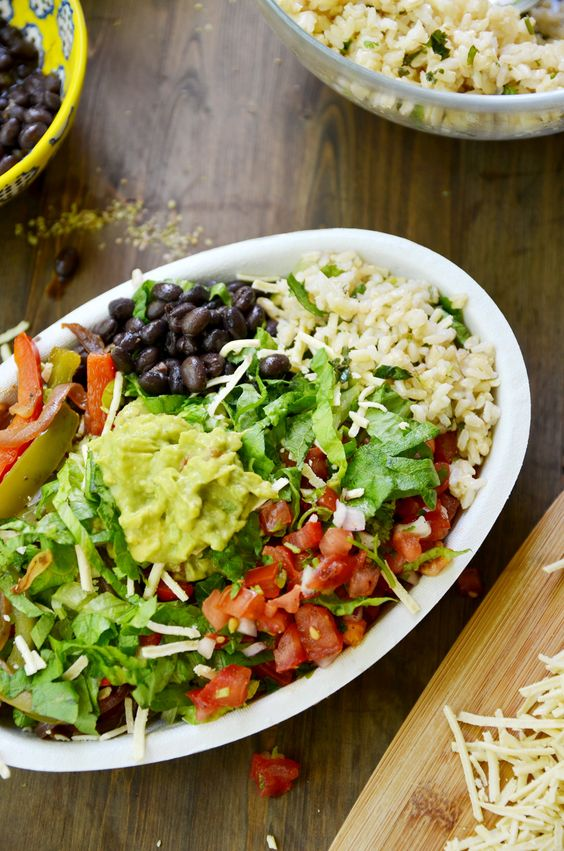 Inspired by Chipotle, this epic Burrito Bowl will rock your world. This is a perfect recipe for make ahead lunches.