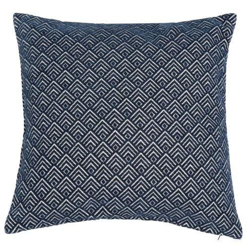 Cuscini Blu.Cuscino Blu 45 X 45 Cm Cuscini Blu Cuscini E Tessili