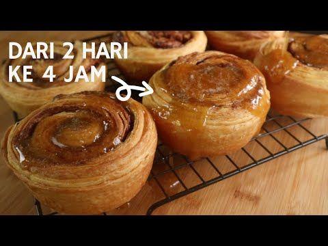 Doh Croissant 1 Hari Resepi Doh Croissant Cinnamon Roll One Day Croissant Youtube Food Desserts Jam