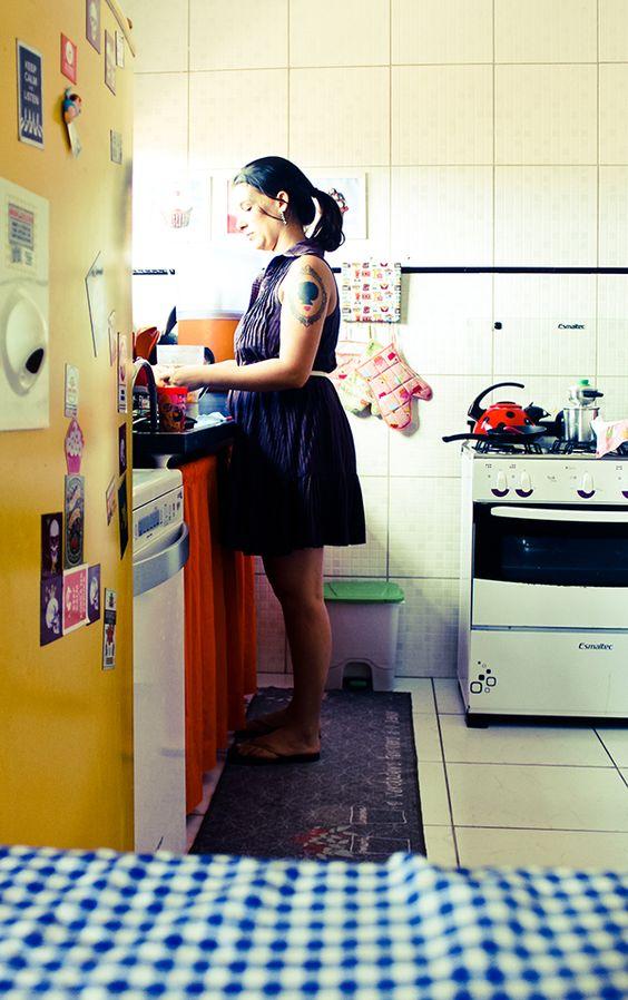 decoracao cozinha fofa: Cozinha // Detalhes // Colorido // Fofa // ♥