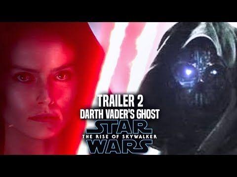 The Rise Of Skywalker Trailer 2 Darth Vader S Force Ghost Star Wars Episode 9 Trailer 2 Youtube Star Wars Episodes Skywalker Darth Vader Ghost