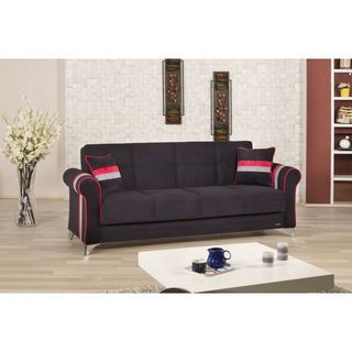 Metro Life Convertible Futon Sofabed with Storage - Overstock™ Shopping - Great Deals on Sofas & Loveseats