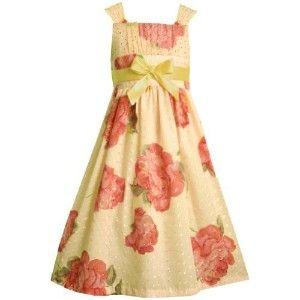 Turquoise-floral print flower girl dress  Flower Girls ...
