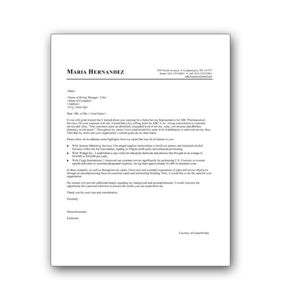 What Info Goes Into A Cover Letter
