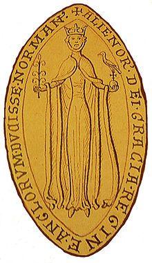 Sceau d'Eleanor Akvitanie