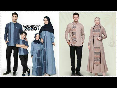 19 Model Baju Couple Muslim Keluarga Untuk Lebaran Terbaru Tahun 2020 Youtube Pakaian Pria Pakaian Islami Baju Muslim