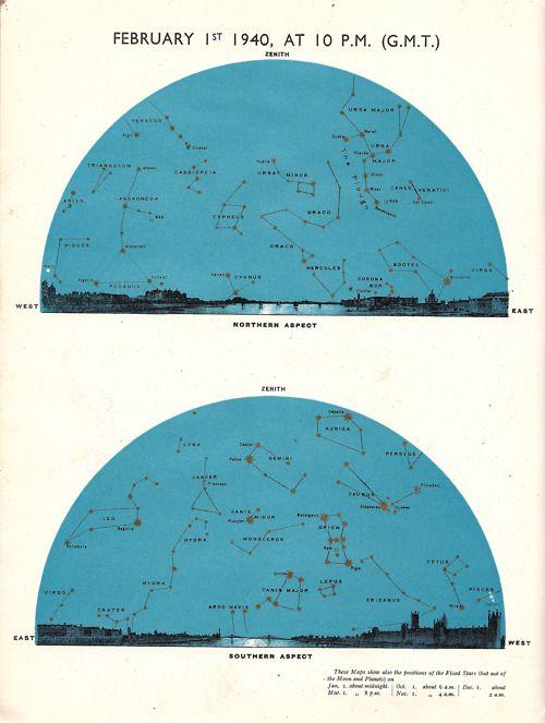 Star Map 1940 (February)