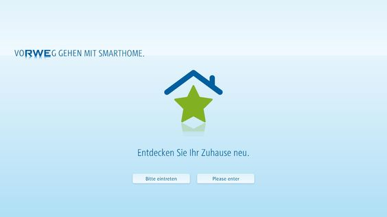 raumHOCH | RWE SmartHome PräsentationsApp