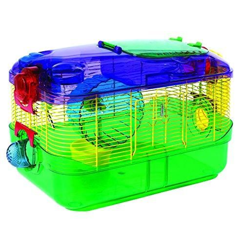 Crittertrail One Level Habitatpack Of 1 In 2020 Gerbil Hamster House Pet Cage