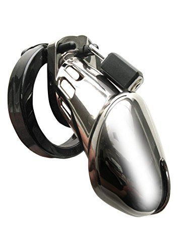 Mister B CBX CB 6000 CHASTITY CAGE CHROME, Metal