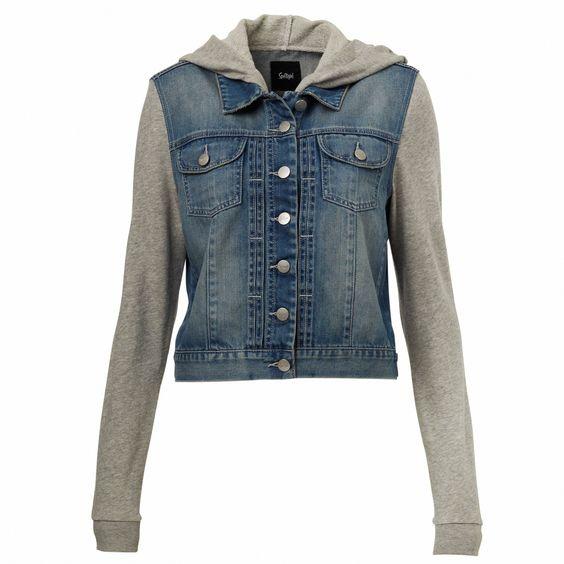 Denim Jackets With Hoods - JacketIn