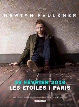 Newton Faulkner dans New KG Janvier 2016