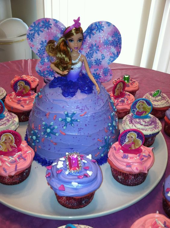 Cake Decorating Pampered Chef : Barbie cake, The pampered chef and Pampered chef on Pinterest
